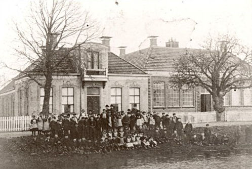 School in Foxhol ca. 1890