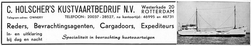 advertentie Holscher