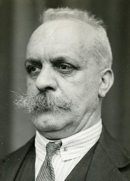 Johannes David Hendrik Hoog (1875-1964) in 1932, collectie HCL